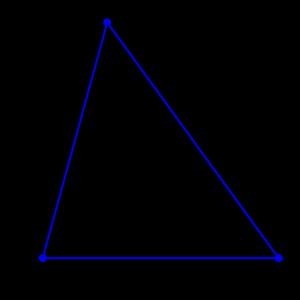 Площадь треугольника через высоту и основание